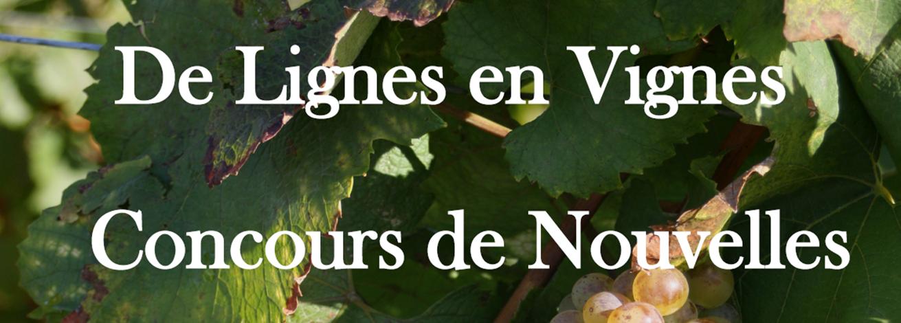 Un concours de nouvelles sur le vin : De lignes en vignes