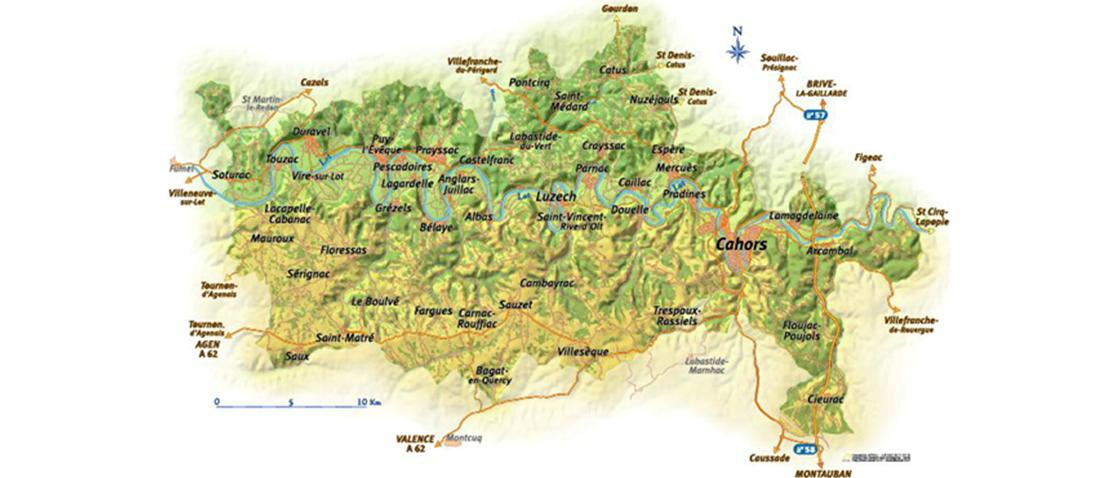 Vignobles de Cahors