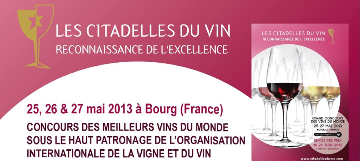 Les Citadelles du Vin 2013