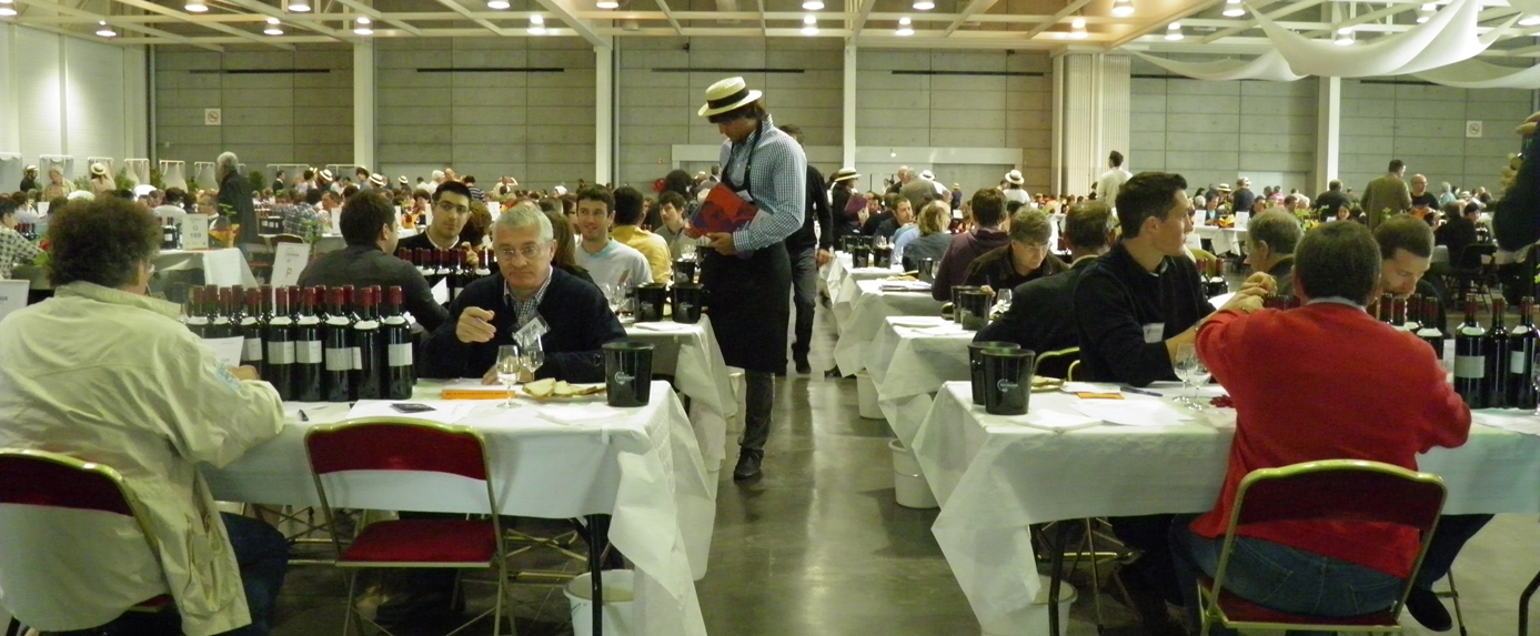 Les dégustateurs du Concours Bordeaux-Vins d'Aquitaine 2012