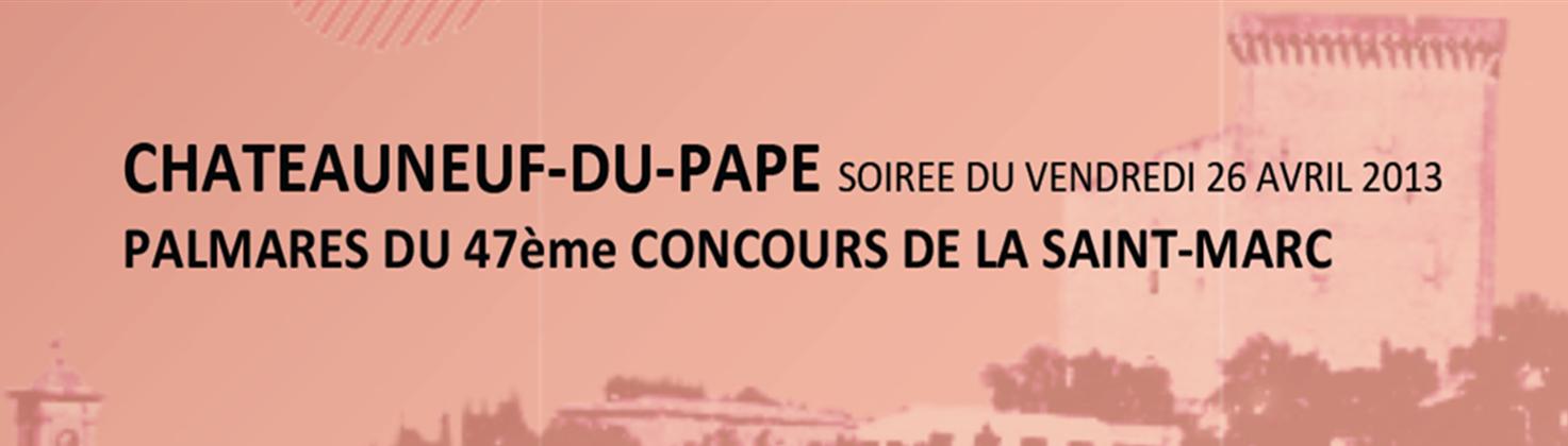Chateauneuf-du-Pape, le Concours de la Saint-Marc