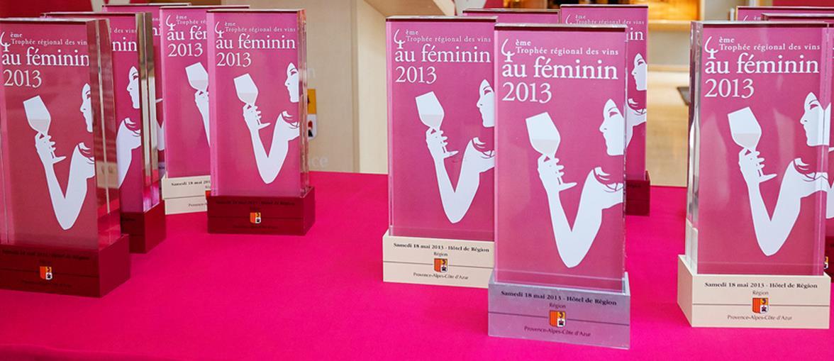 Les Vins au Féminin : Trophée Régional