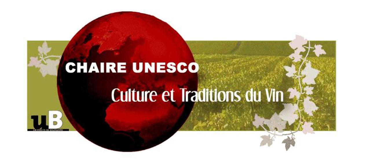 Chaire Culture et traditions du Vin et de la Vigne