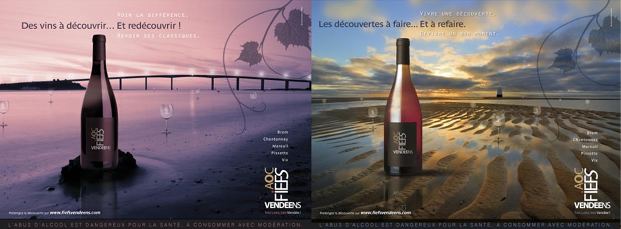 la nouvelle campagne d'image des Fiefs Vendéens