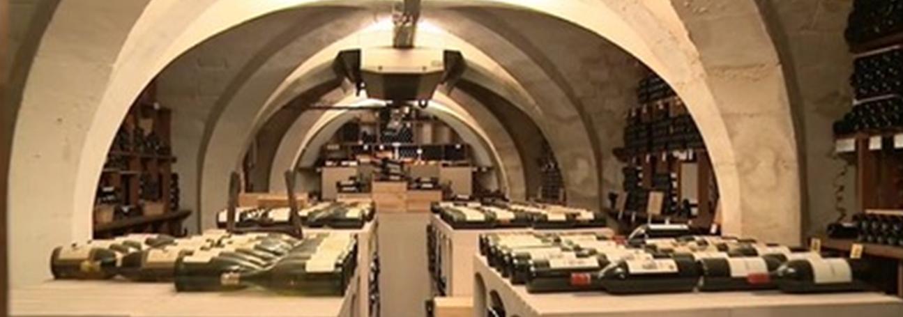 La cave de la Présidence de la République