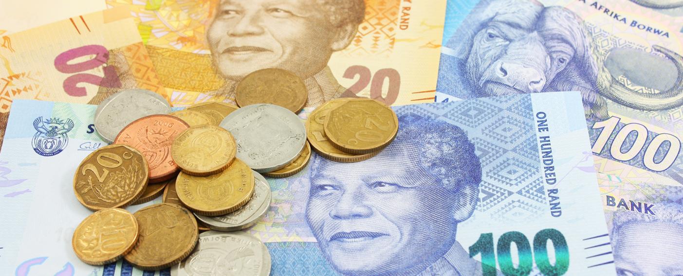 Nelson Mandela sur la monnaie nationale