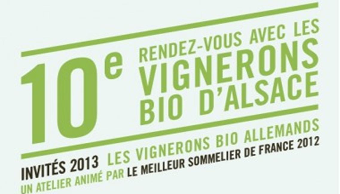 Alsace - Rendez-vous des vignerons Bio