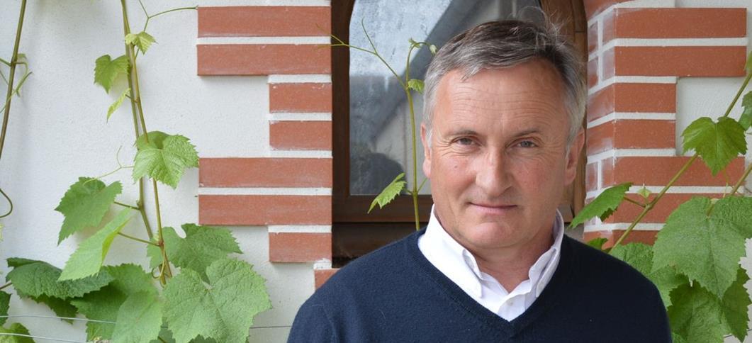 Le nouveau Président d'Interloire, Gérard Vinet
