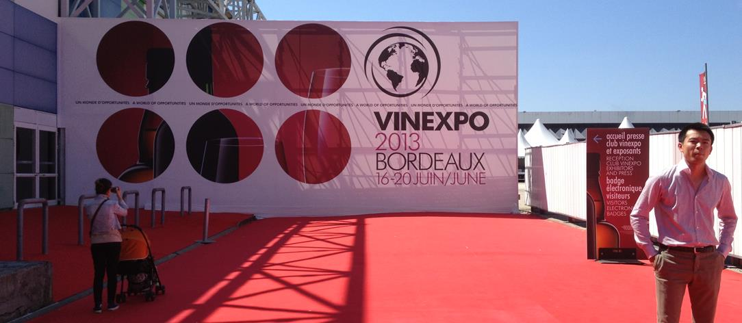 Edition 2013 de Vinexpo à Bordeaux-Copyright Nadine Couraud