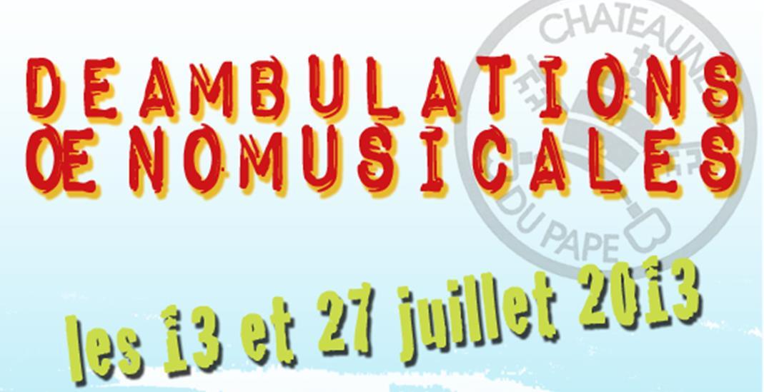 Châteauneuf-du-Pape : déambulations oenomusicales