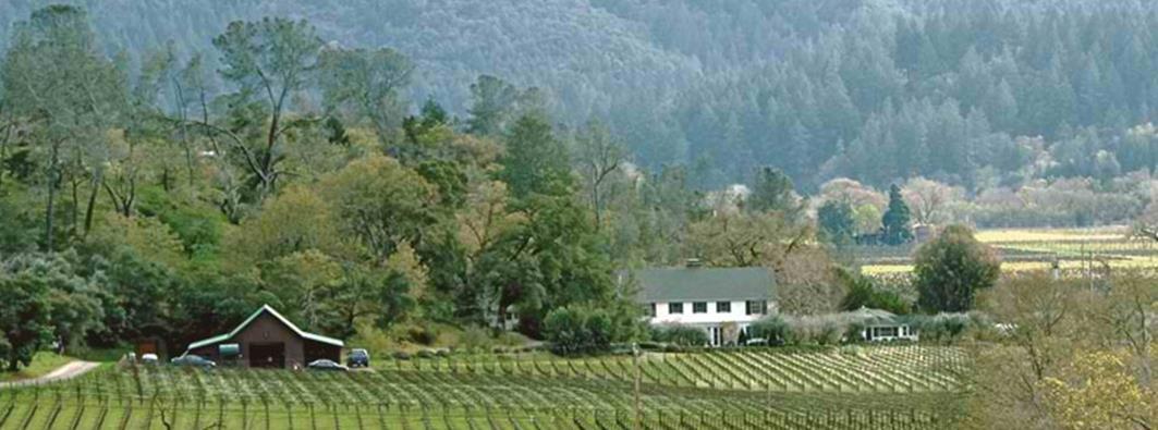 Les Vignobles Araujo dans la Napa valley (Calistoga)