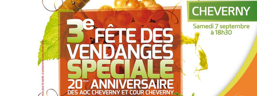 20 eme anniversaire et Fette des Vendanges des AOC Cheverny et Cour Cheverny