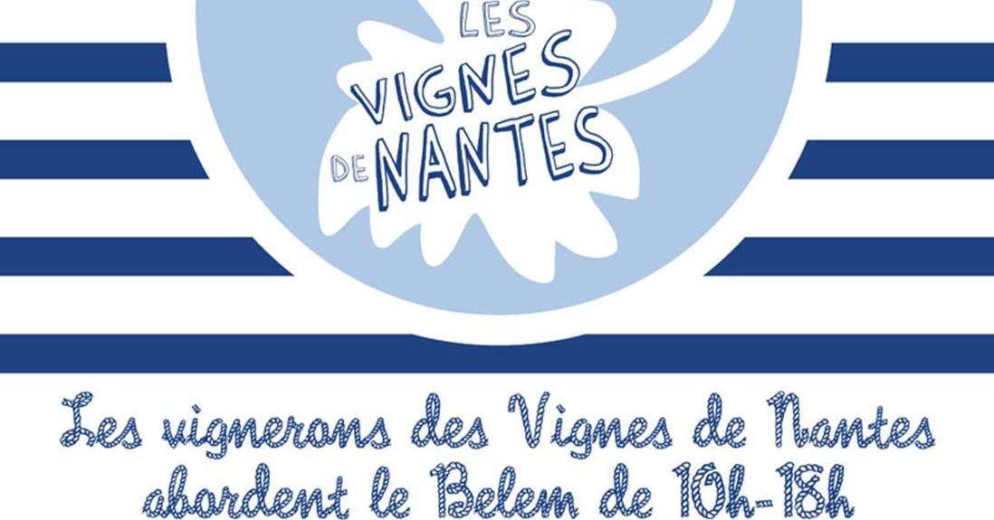 Présentation des vins des Vignes de Nantes sur les quais du Belem