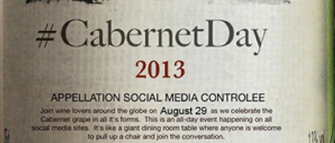 le 29 aout 2013 c'est le cabernet day