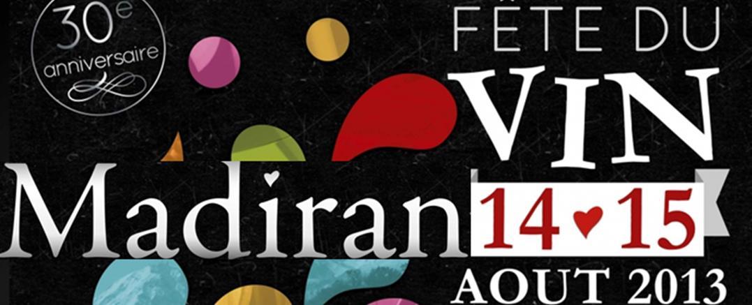 14 et 15 aout : Fête du Vin de Madiran