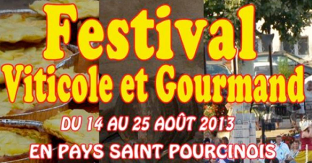 Saint-Pourçain, le Festival Viticole et Gourmand