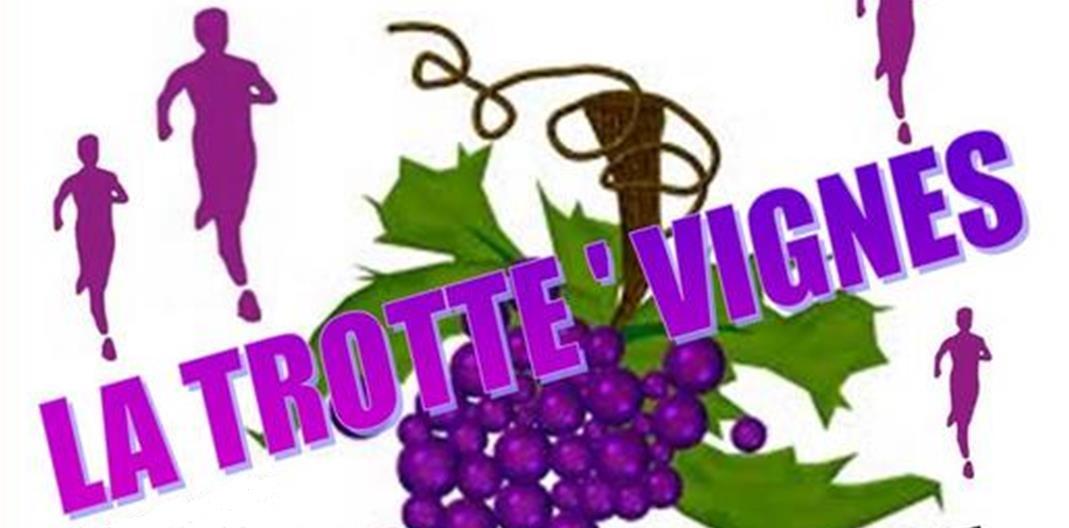 La Trotte'Vignes à St Pourçain, une course nature, le dimanche 18 aout