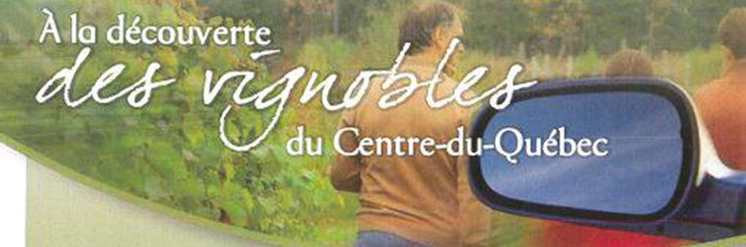 Les vins du Centre-du-Québec au Marché Godefroy de Bécancour