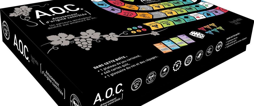Jeu sur le vin, AOC se veut un amusement d'origine contrôlée
