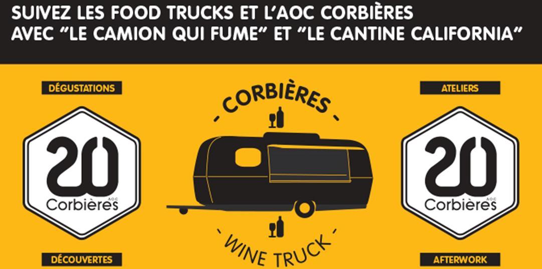 Le wine-truck des Corbières