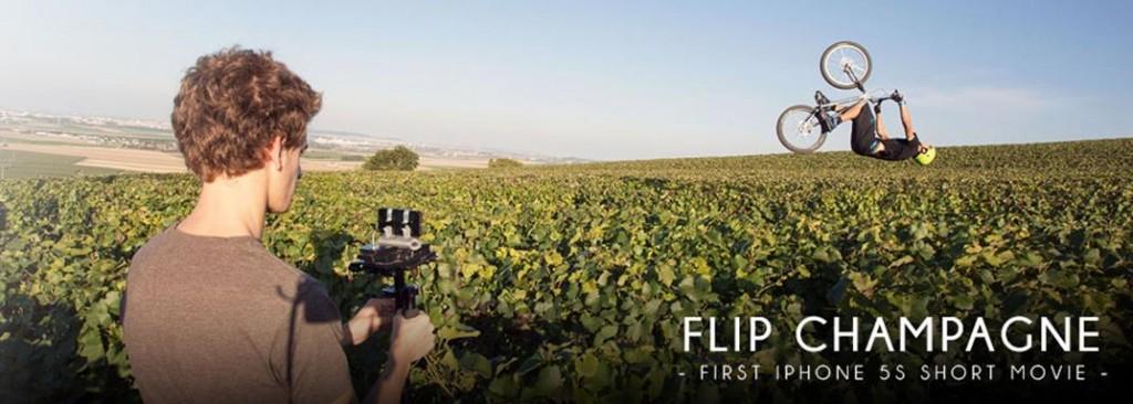 Flip Champagne filmé par Léo Ginailhac