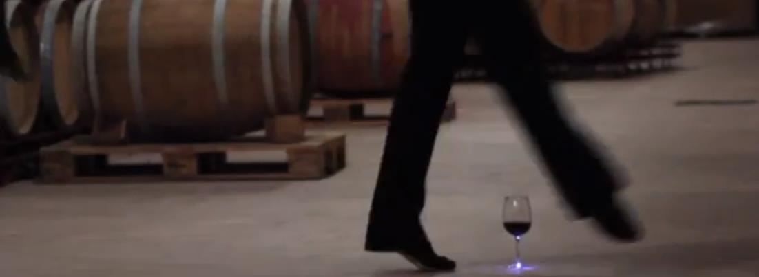 Wine dancing in Rioja