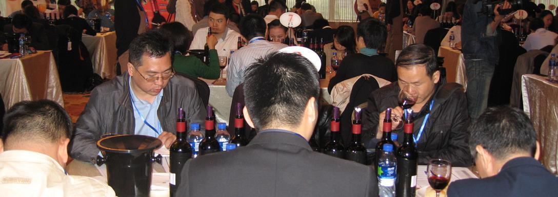 Les dégustateurs chinois des Trophées Coup de Coeur à Wuhan