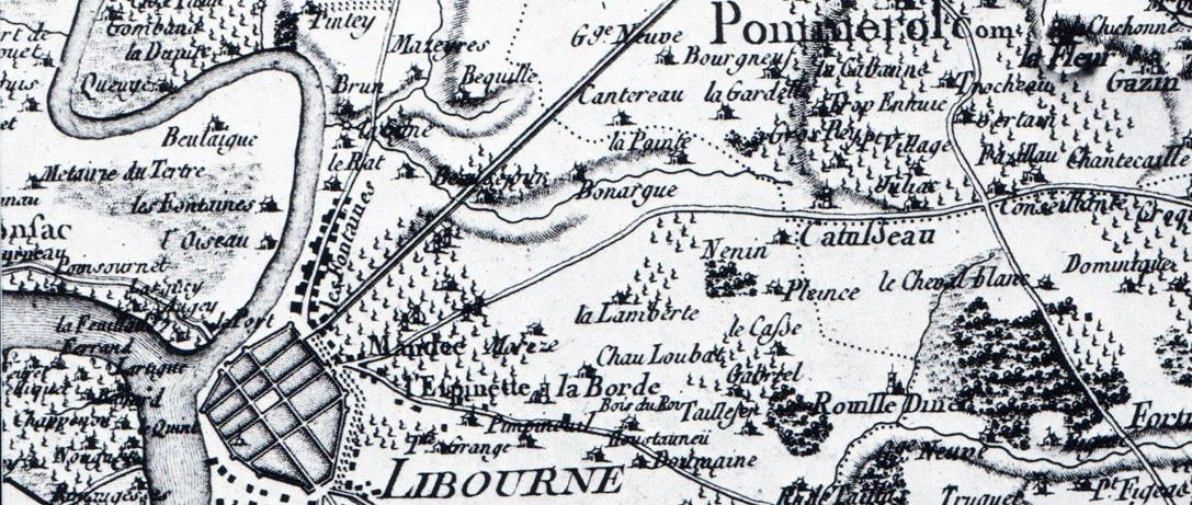 Carte de Belleyme