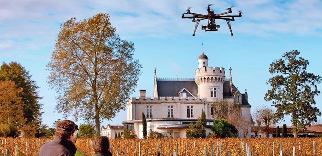 Drole de drone en Bordelais-Copyright Deepix-Bernard Magrez