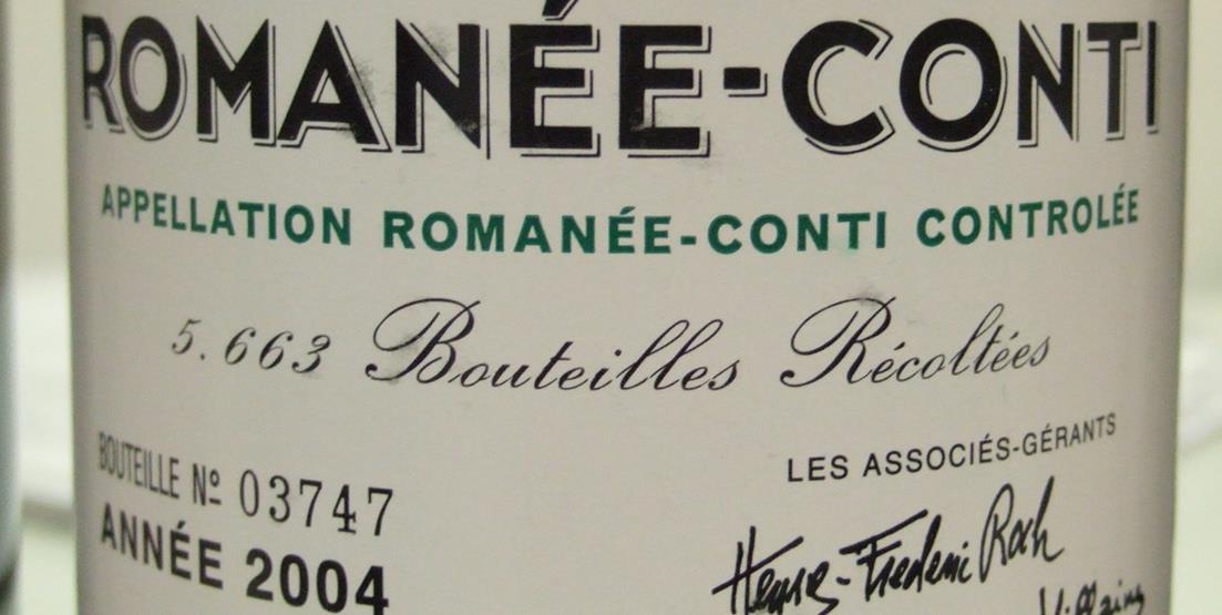 Vente des vins de Matignon