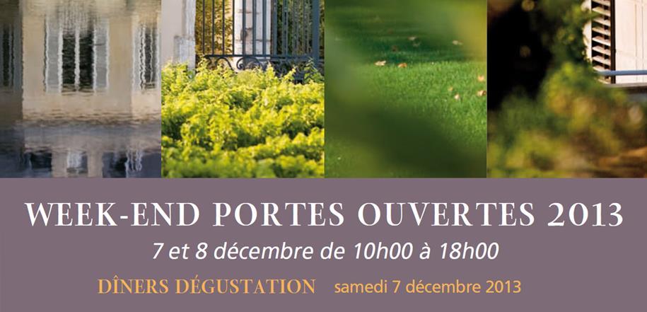 7 et 8 décembre, les Portes ouvertes 2013 de Pessac Léognan