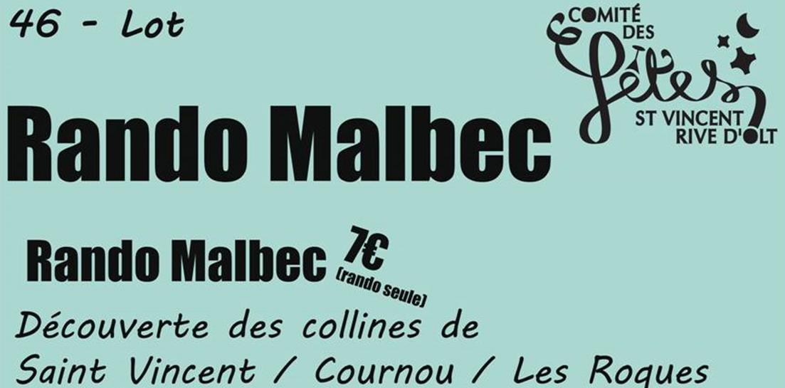 Fête de la Saint-Vincent et Rando Malbec