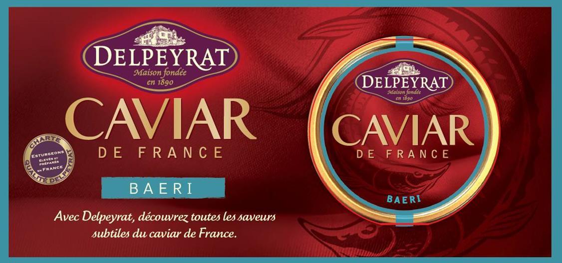 Delpeyrat vend du caviar
