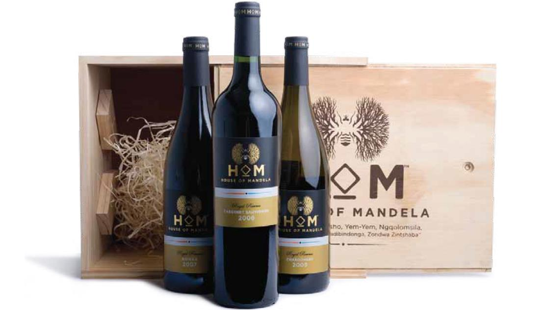 Les vins de La Maison de Mandela