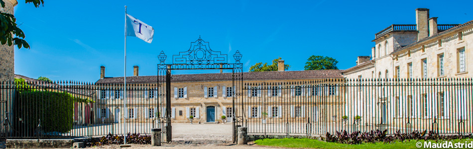 Le Château de Portets propriété de la famille Théron