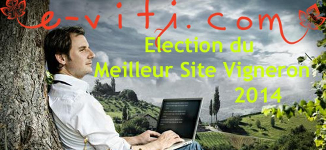 Votez pour l'élection du meilleur site web de domaine viticole