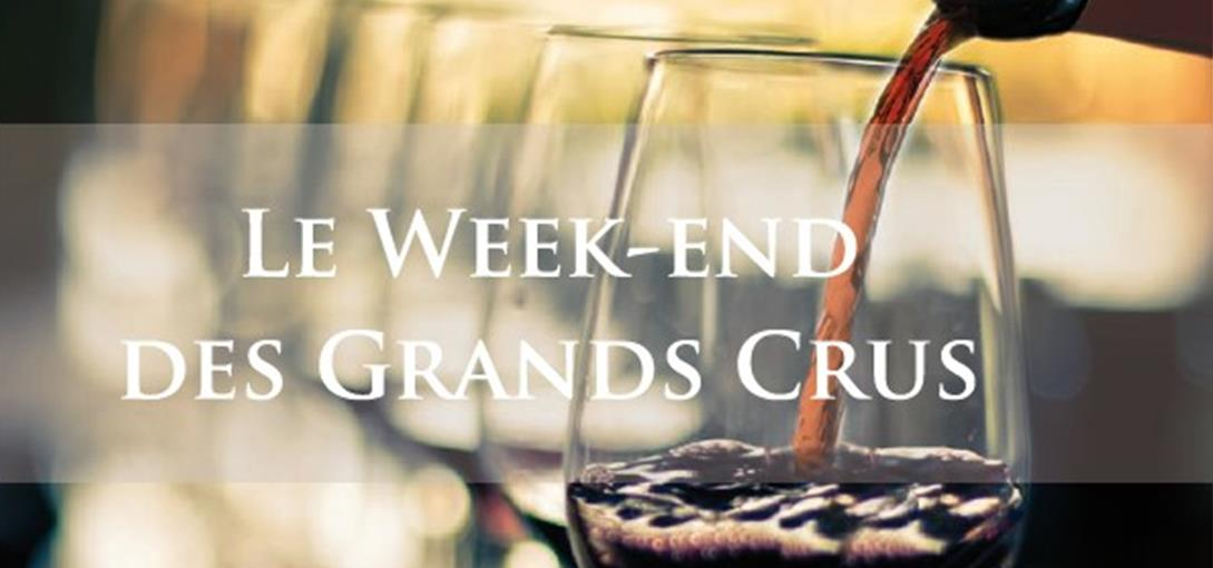 Les grands Crus en week-end