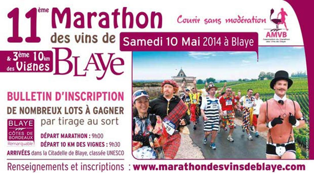 10 mai 2014, Marathon des Vins de Blaye