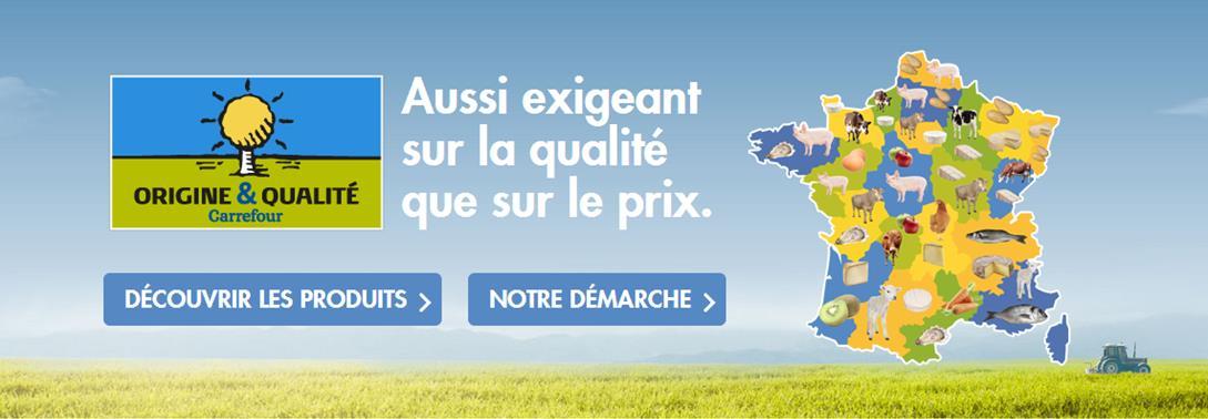Carrefour-INAO : combat pour Origine et Qualité