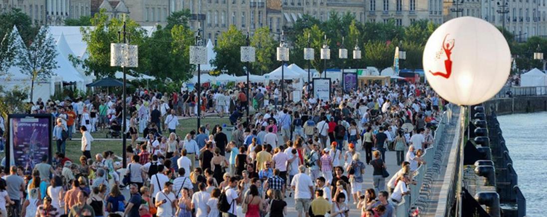 Les quais de Bordeaux accueille les vins de Bordeaux