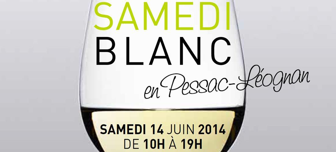 Pessac-Léognan : un samedi blanc