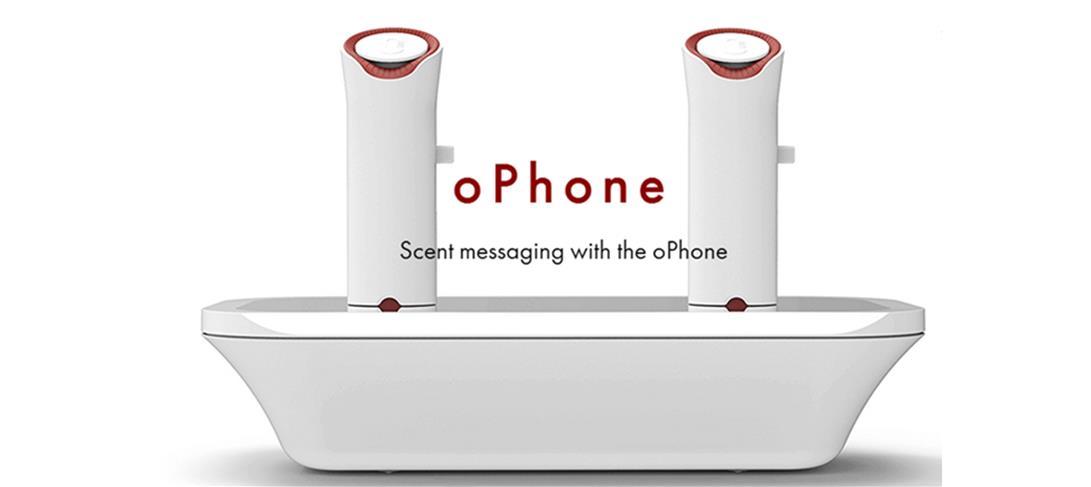 des sms olfactifs avec l'ophone