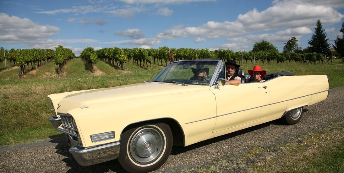 23 et 24 aout : balades en Cadillac