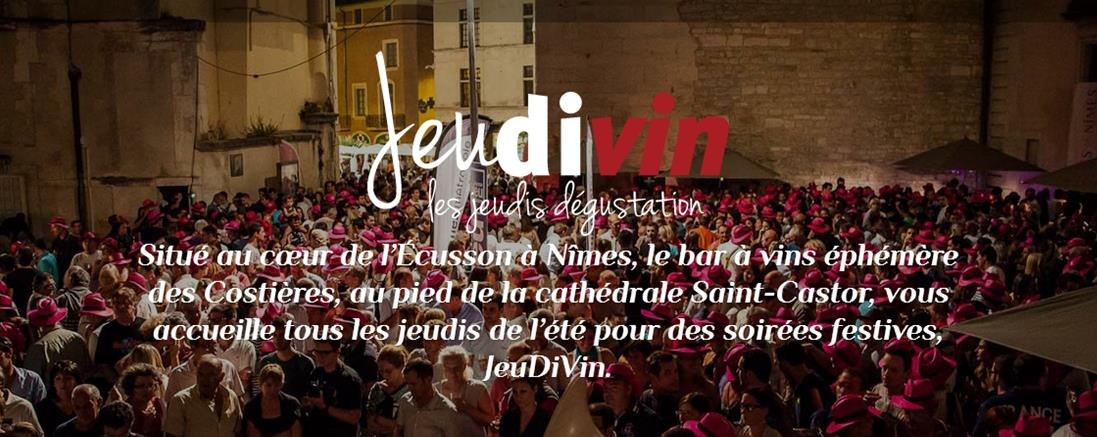JeudiVin à Nîmes