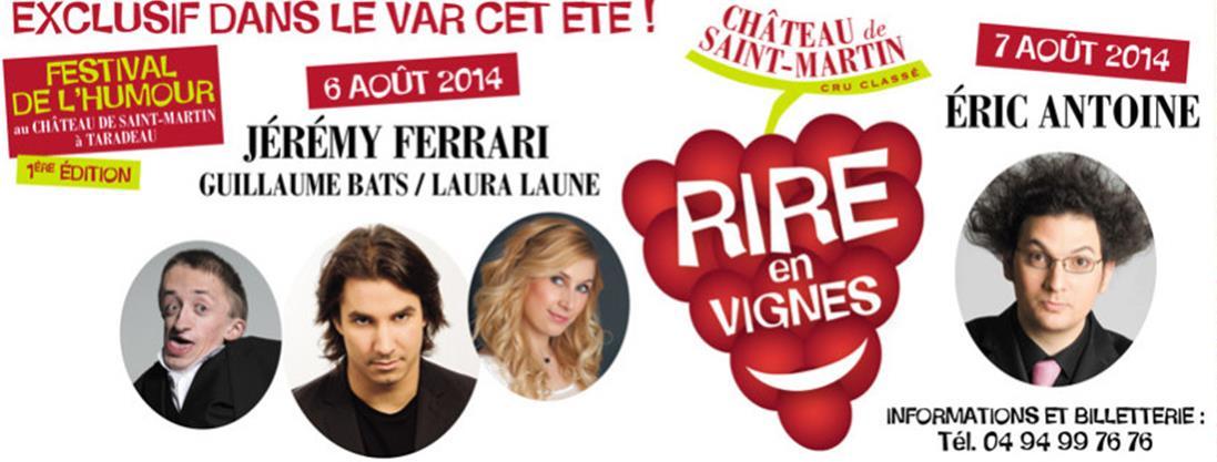 Rires en Vignes, le Festival