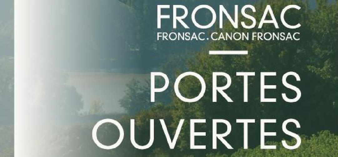 Les Portes Ouvertes en AOC Fronsac et Canon Fronsac