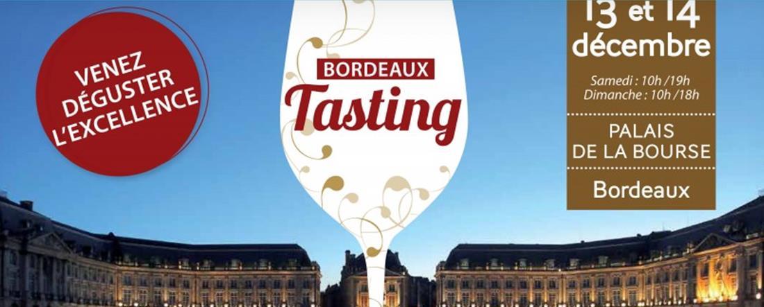 Bordeaux tasting les 13 et 14 décembre 2014