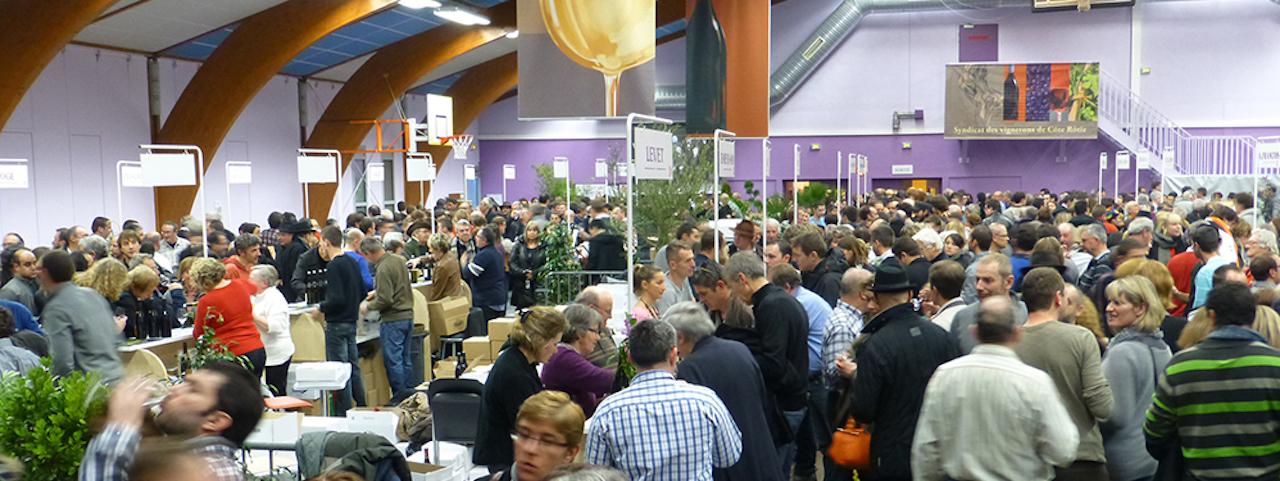 Marché aux vins d'Ampuis en Côte Rotie