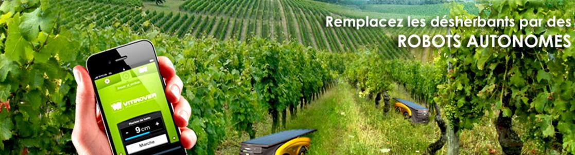 Vitirover, un robot autonome dans les vignes