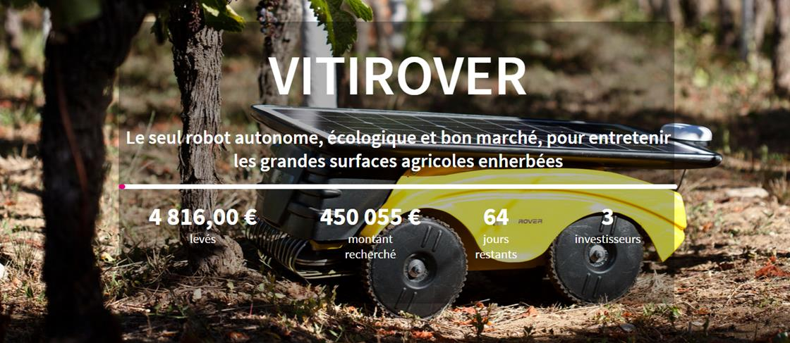 Crowdfunding sur Happy Capital pour Vitirover